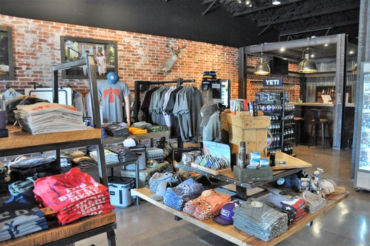 Circle T Outfitters carries several exclusive apparel lines, such as Southern Marsh, as well as local brands, such as Oliver & Otis.