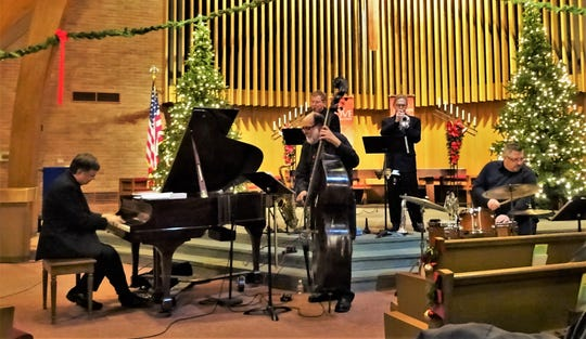 Bill Carter and the Presbybop Christmas Eve Band will play jazz variations of seasonal favorites at the Union Presbyterian Church of EndicottSunday afternoon.