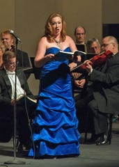 """Mezzo-soprano Eliza Dopira, praised for her """"vibrant tone"""" by the """"Washington Post,"""" is one of four featured soloists in the Brevard Community Chorus performance of Handel's """"Messiah,"""" Dec.14 at the King Center."""