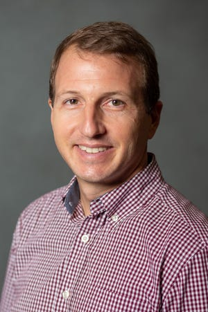 Dr. Evan Rehm, assistant professor of biology