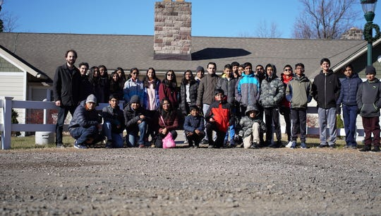 Thomas Edison EnergySmart Charter School held Science Olympiad Team Camp on Thanksgiving weekend at Alpine Scout Campsite.