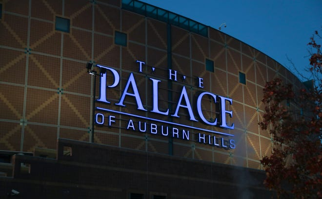 Exterior of The Palace of Auburn Hills home of the Detroit Pistons  Monday, November 21, 2016.