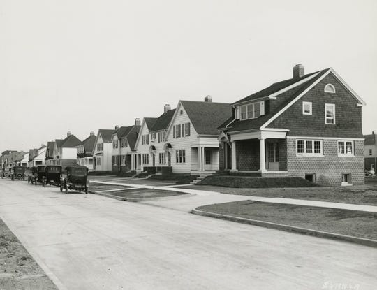 Between 1919 and 1920, 250 homes were built as part of what would eventually become the Ford Homes Historic District. The homes were built by Henry Ford for his workers at the Fordson Tractor Plant but they were open to anyone to buy.