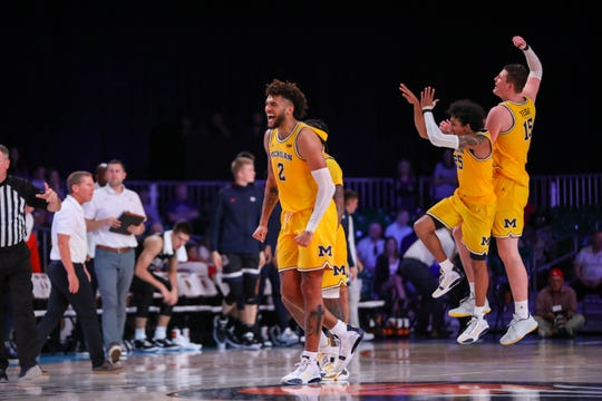Isaiah Livers and Michigan rolled to the Battle 4 Atlantis championship last week.