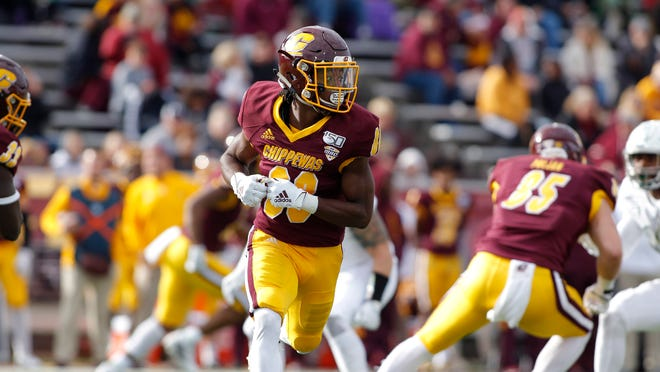 Kalil Pimpleton and Central Michigan take on Miami in the MAC championship on Saturday at noon.