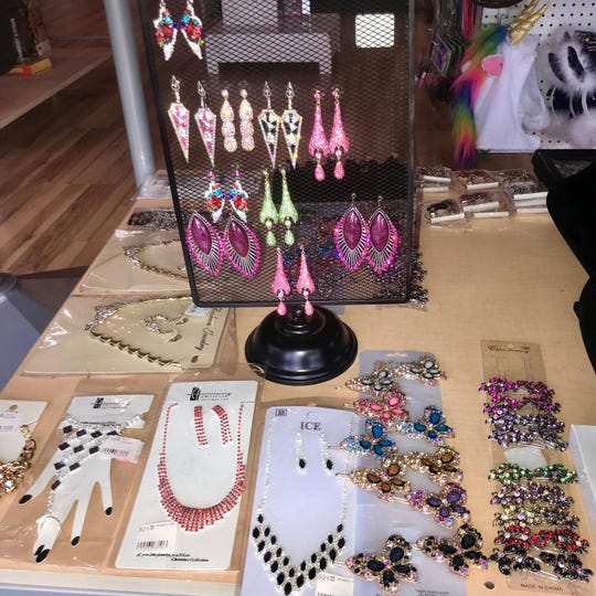 Jewelry sold at Jasmine's Red Room