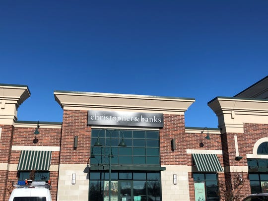 Christopher & Banks will close at Forest Mall and reopen in the strip mall at 1155 E. Johnson St., on Dec. 11 and 12.
