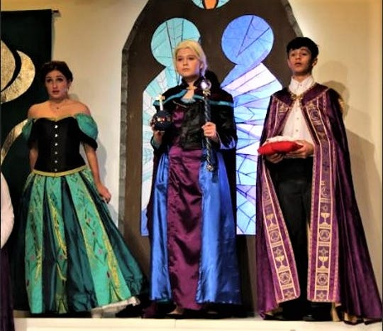 "The Fremont Community Theatre will present ""Frozen Jr."" for two weekends."
