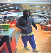The suspect who attempted to rob a gas station on Mauldin Road, Dec. 2, 2019.