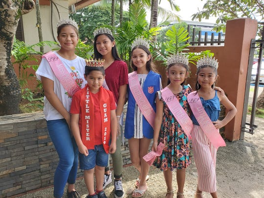 Haylee Dayday 2019 Miss Pre-Teen Guam first runner up, James Taga Little Mister Guam 2019, Danalen Tydingco Miss Bloom Hibiscus 2019, Breanna Chovich Miss Pre-Teen Guam 2019, Kamia Santos Little Miss Guam 2019, and Paisley Barnes Little Miss Guam Junior 2019 all helped today at The Salvation Army's Thanksgiving feast.