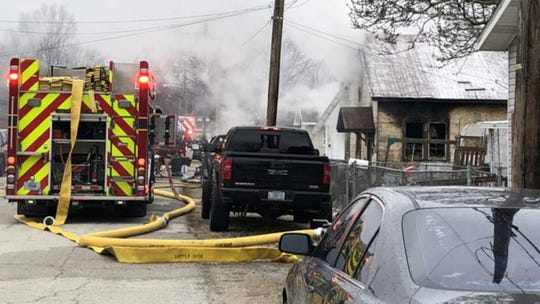 A child was killed Monday in a Frankfort House fire