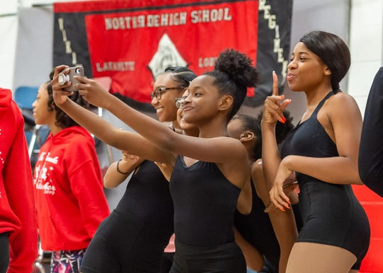 Dance rehearsal for the Creole Nutcracker performance at Northside High School in preparation for the Dec. 8 show at Angelle Hall.  Wednesday, Nov. 27, 2019.