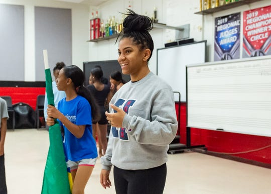 Jazmyn Jones during Dance rehearsal for the Creole Nutcracker performance at Northside High School in preparation for the Dec. 8 show at Angelle Hall.  Wednesday, Nov. 27, 2019.