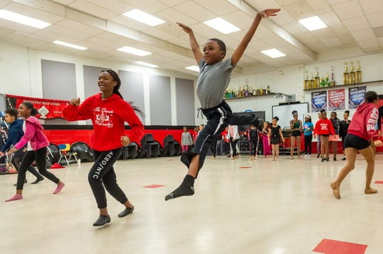 Kenneth Martin during Dance rehearsal for the Creole Nutcracker performance at Northside High School in preparation for the Dec. 8 show at Angelle Hall.  Wednesday, Nov. 27, 2019.