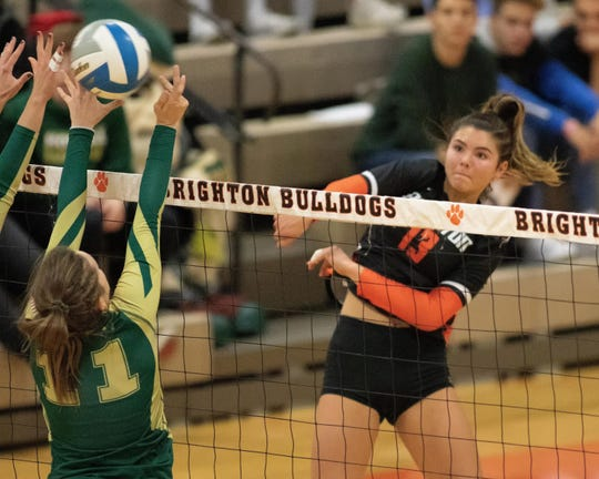 Brighton's Celia Cullen is a two-time first-team all-state volleyball player.