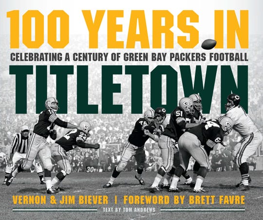 """100 Years in Titletown"" book cover"