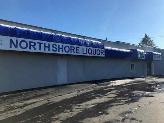 North Shore Liquor on Washington Street in Manitowoc.