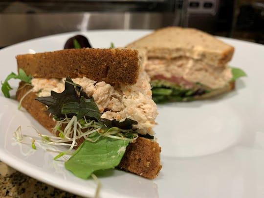 The tuna salad on multi-grain bread from Summer Day Market & Café, Marco Island.
