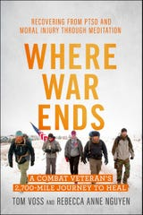 Tom Voss, a Waukesha native and Iraq War veteran, has written a book with his sister about  his struggles after returning home from war.