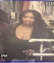 Germantown police are looking for this woman in connection with a hit-and-run at about 4:15 p.m. Nov. 13 at Highway 175 and Holy Hill Road. Police are also looking for a man thought to be involved.