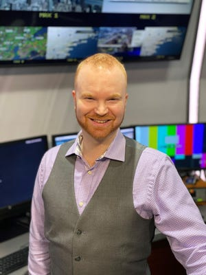 """Mike Rawlins, who grew up in Delafield, has been """"obsessed"""" with weather since he was 8. Now, he's the executive producer ofweather at WNBC in New York City."""