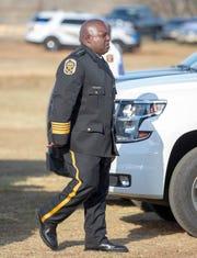 Montgomery County Sheriff Derrick Cunningham