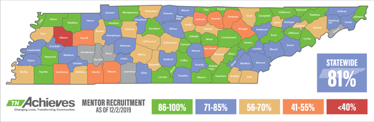 TN Achieves Mentor Recruitment Map