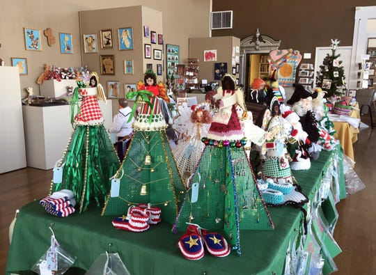 If you are looking for that unique holiday gift for that special some one drop by the Deming Art Center in December to choose from a holiday wonderland of hand-made gift items. The DAC is located at 100 S. Gold Street.