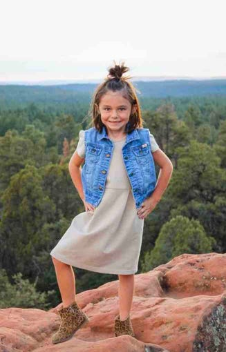 Willa Rawlings, 6, was missing after she was swept away in Tonto Creek when her family's truck got stuck.