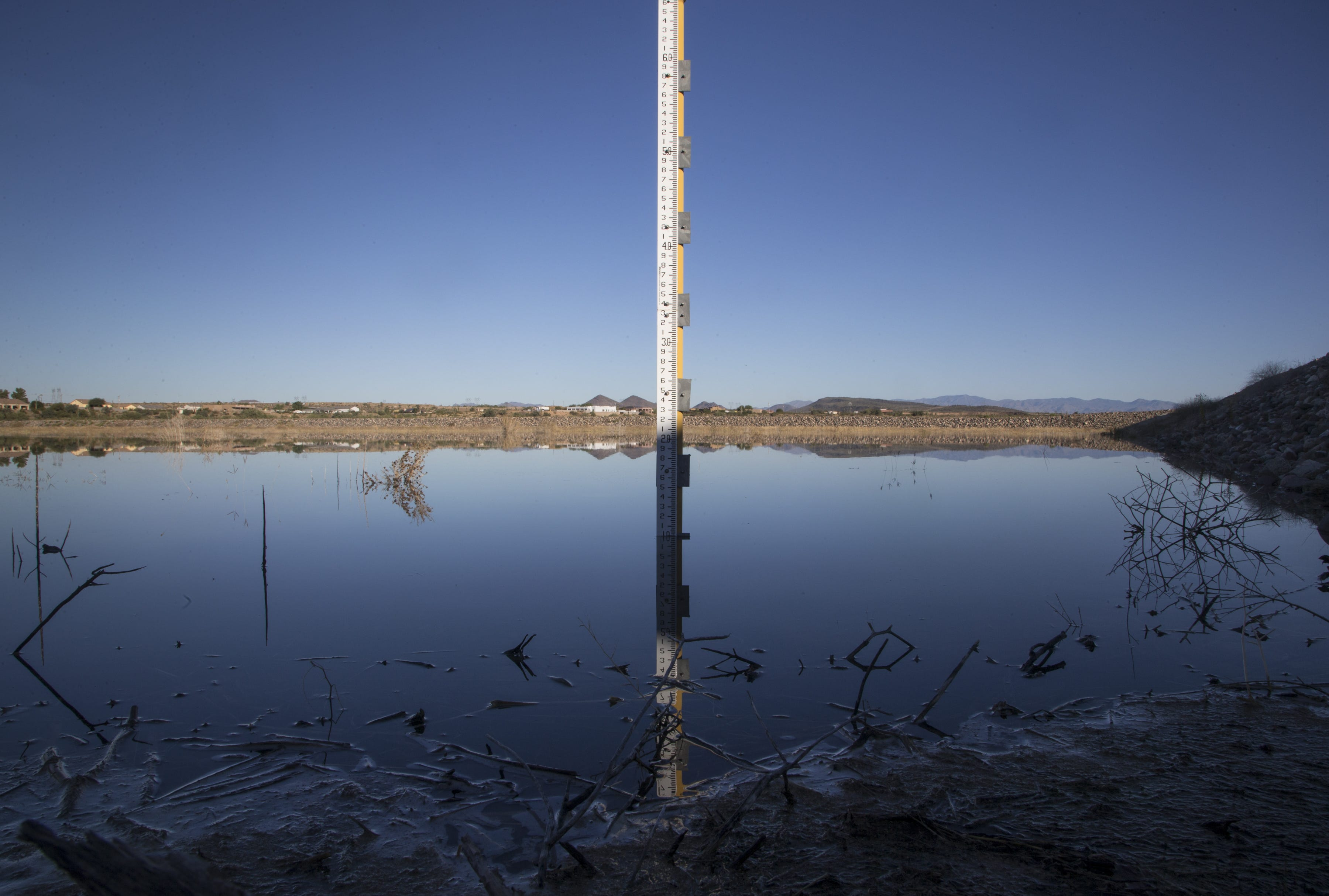 The Agua Fria Recharge Project in Peoria.
