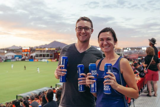 Phoenix Rising games are a great value, but especially on $1 beer nights.