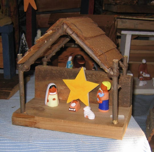 Our Lady of the Resurrection Monastery's annual Vinegar Festival and holiday sale is set for Dec. 7-8. Nativity scenes, such as the one pictured, will be for sale in addition to the vinegars, baked goods and cookbooks.