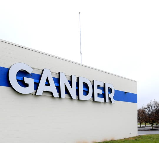 With its landmark flag taken down Monday, Dec. 2, 2019, Gander Outdoors officially closes its West Manchester Township location. Bill Kalina photo