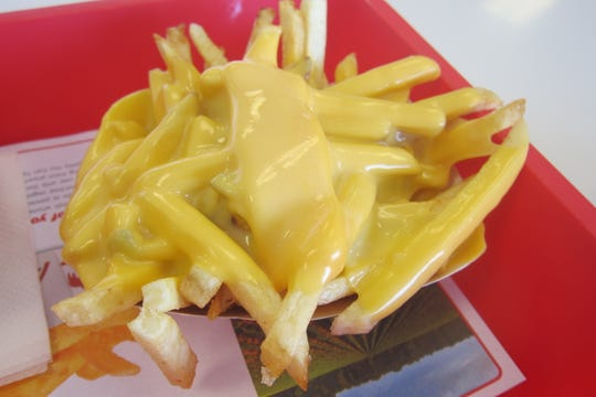 "Cheese fries, a common order from the ""secret menu."""