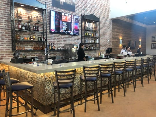 The new bar at Fuentes Cafe, 101 S. Chadbourne St.