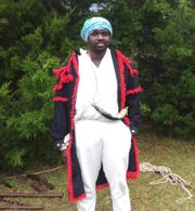 Antonio Wright portrays the Black Seminole leader Abraham at the Scott 1817 Seminole War Battle Reenactment. This year's event is set for Dec. 6-8 at Chattahoochee.
