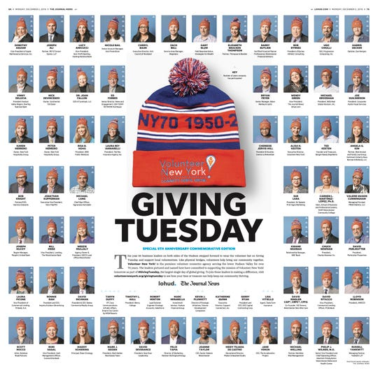 Here's who's wearing the Volunteer Hat for #GivingTuesday in 2019