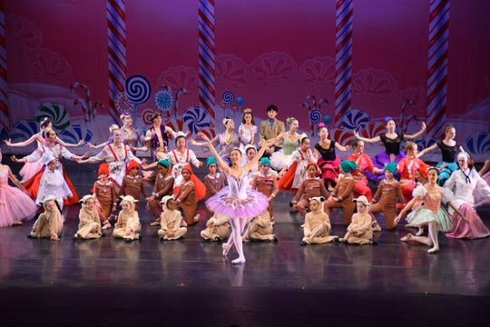 """Scarsdale Ballet Studio presents its performance of """"The Nutcracker"""" at the Performing Arts Center in Purchase."""