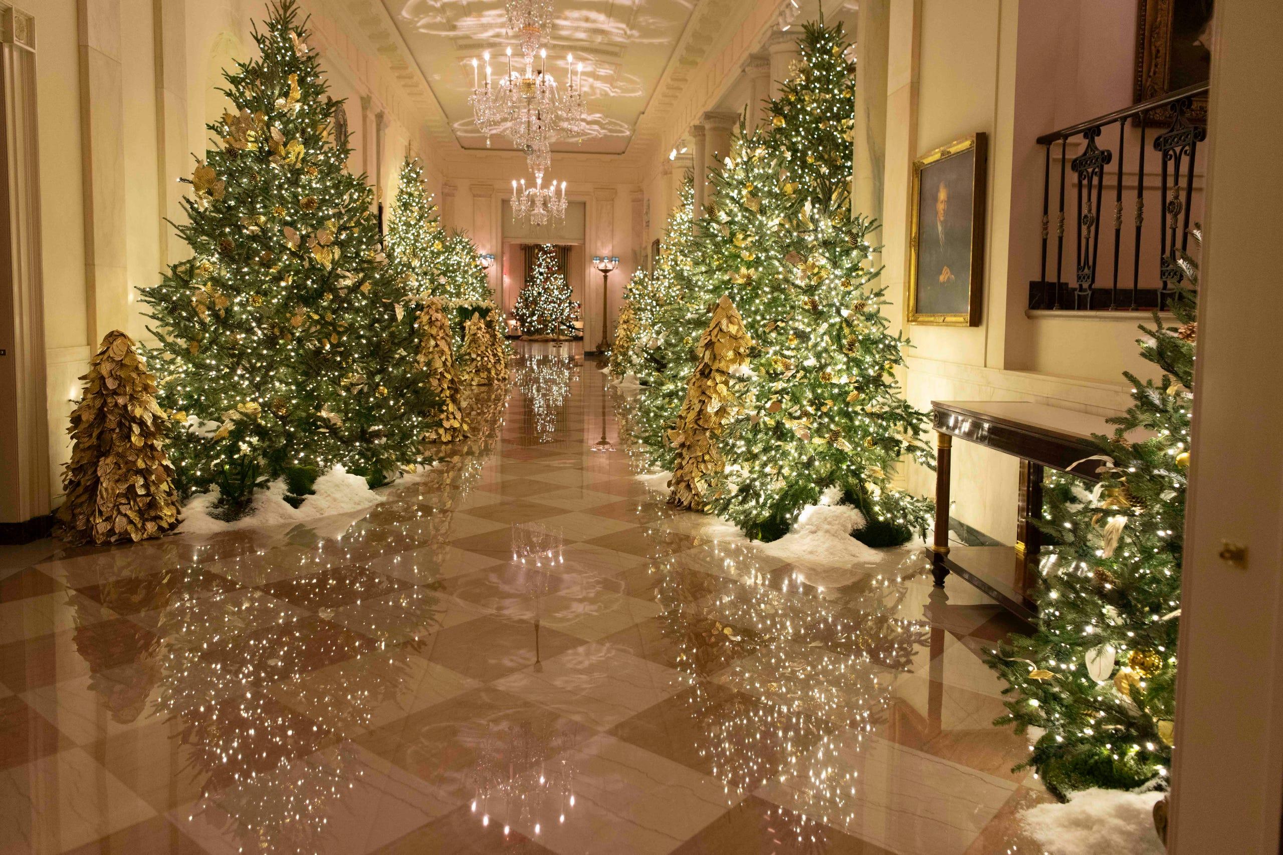 White House Christmas 2019 See Melania