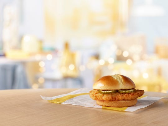 McDonald's is testing two new crispy chicken sandwiches.