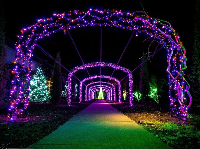Nashville shares in the joy of the season with breathtaking displays of light.