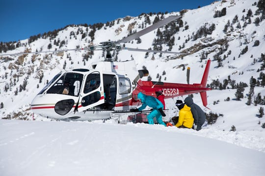 There are no lift lines when you go heli-skiing, and most heli-ski vacations are all-inclusive, like Ruby Mountain in Nevada.
