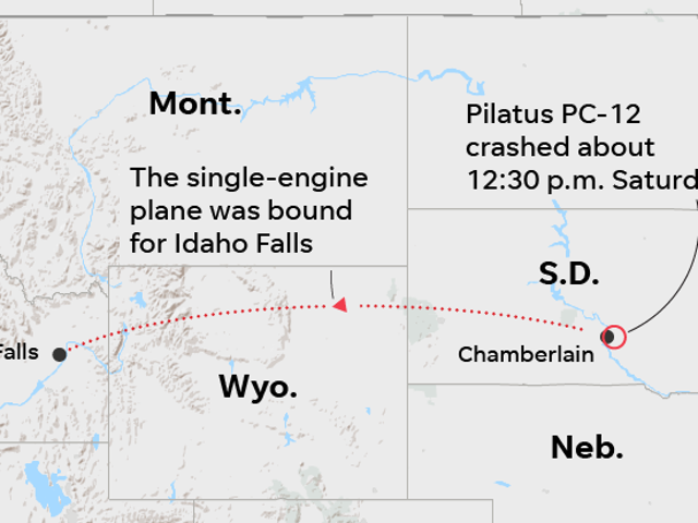 Prominent Idaho executives, kids among 9 killed in South Dakota plane crash