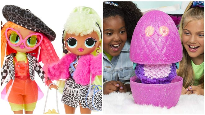 """L.O.L. and Hatchimals are among the top """"surprise reveal"""" toys of 2019 this year."""