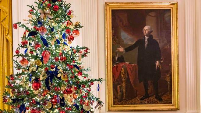 White House Christmas 2019 Melania Trump Unveils Holiday