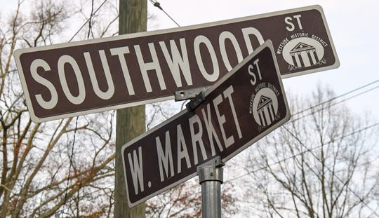 Shooting Monday night near the corner of Southwood Street and West Market Street in Anderson.