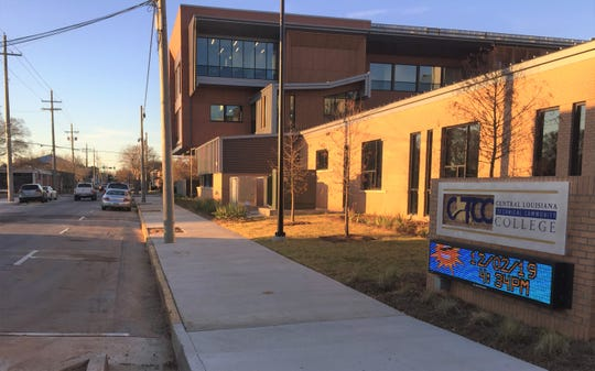 The city of Alexandria added hundreds of new street parking spaces to accommodate the opening of Central Louisiana Technical Community College's new downtown campus.