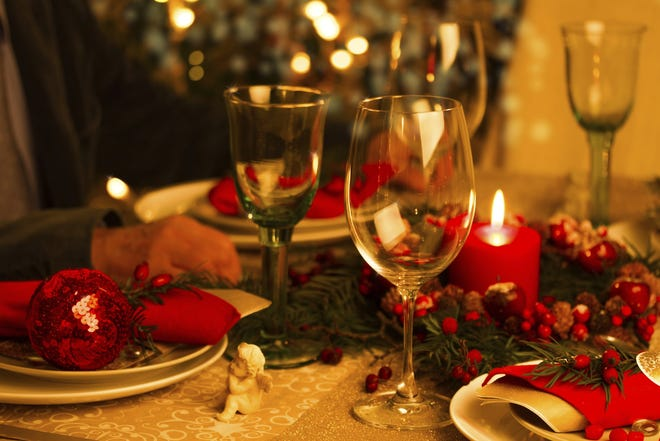 Christmas dining-out options will likely run from casual through formal.