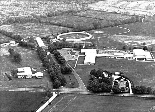 Aerial view of Christian Brothers Academy on May 24, 1967.