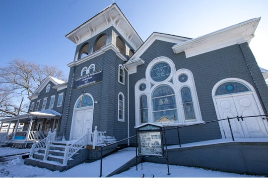 The Community Mission Center in Long Branch. It was formerly the First Reformed Church of Long Branch and is rich in history.